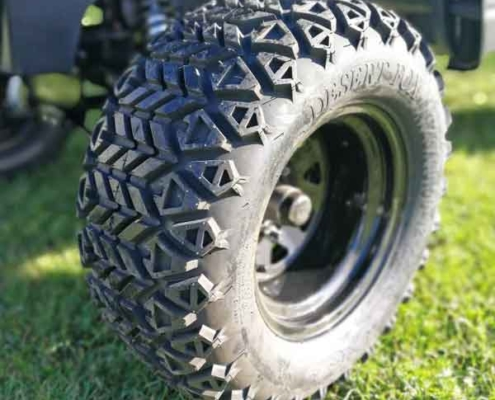 Gebrauchte-Golfcarts-RXV_mit_Licht_detail_bereifung