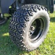 Gebrauchtes-Golfcart-RXV-SUV-mit-Licht-detail-Bereifung