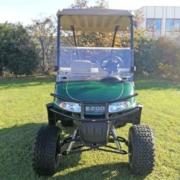 Gebrauchtes-Golfcart-RXV-SUV-mit-Licht-Ansicht-frontal
