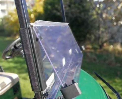 Gebrauchtes-Golfcart-RXV-SUV-mit-klappbarer-Frontscheibe-detail