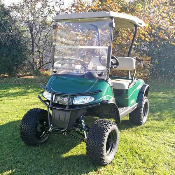 Gebrauchtes-Golfcart-RXV-SUV-mit-Licht-Ansicht-links