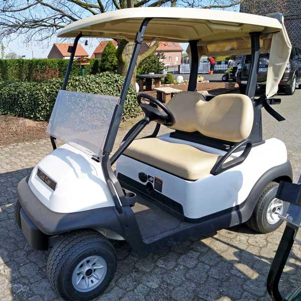 ClubCar-elektro-2-Sitzer-weiß-seite