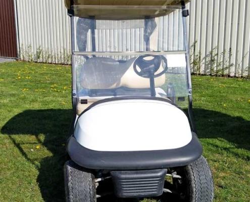 Gebrauchte-Golfcarts-CC-weiss-frontansicht