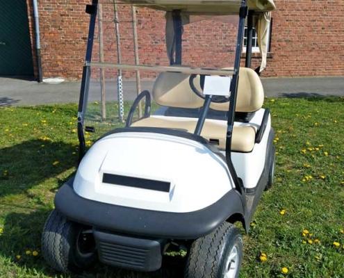 Gebrauchte-Golfcarts-CC-weiss-nr1-seitenansicht