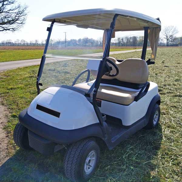 Gebrauchte-Golfcarts-CC-weiss-nr2-seitenansicht