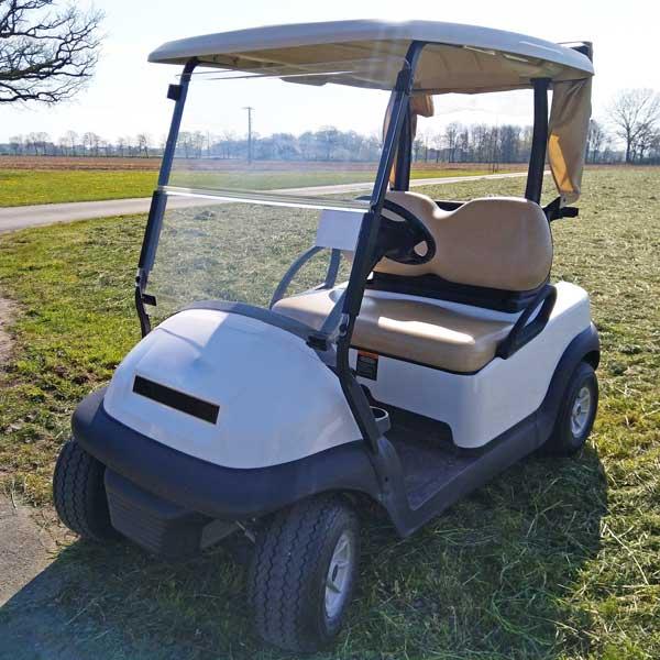 Gebrauchte-Golfcarts-CC-weiss-nr3-seitenansicht