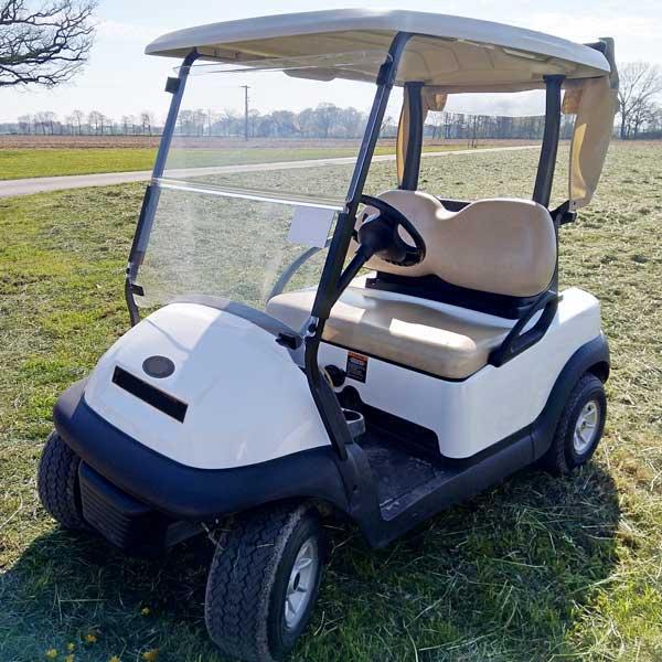 Gebrauchte-Golfcarts-CC-weiss-nr4a-seitenansicht