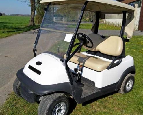 Gebrauchte-Golfcarts-CC-weiss-nr5-seitenansicht