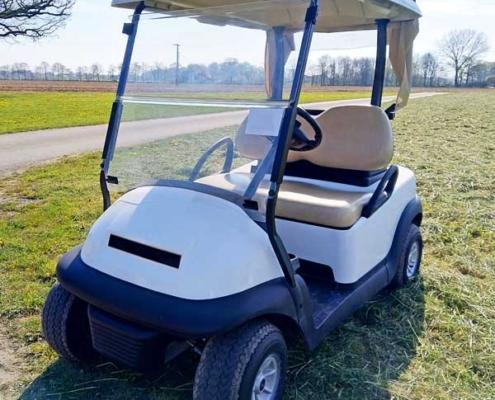 Gebrauchte-Golfcarts-CC-weiss-nr6-seitenansicht