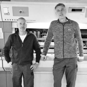 Jürgen Dresselhaus & Frank Sander (v.l.n.r.)