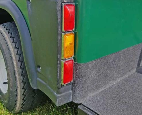 EZGO-Marathon-grün-Details-Bremslichter-hinter