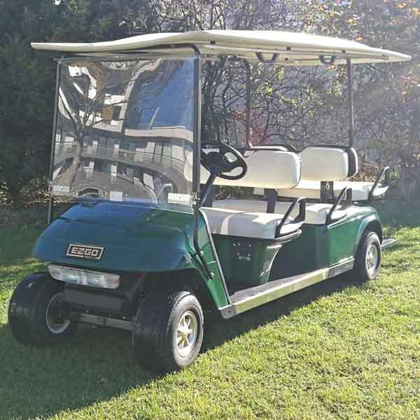 Gebrauchte-Golfcarts-EZGO_6sitzer_left