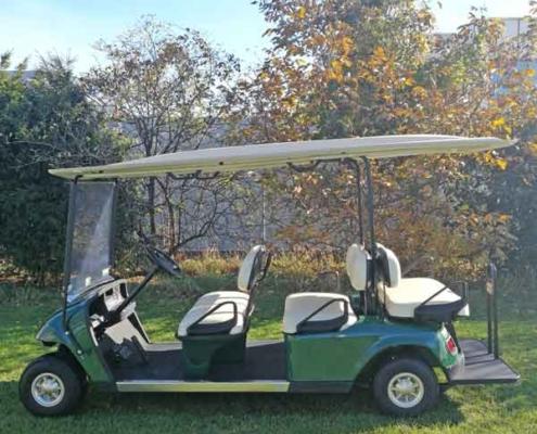 Gebrauchte-Golfcarts-EZGO_6sitzer_side