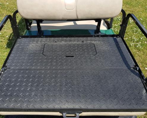 Gebrauchte-Golfcarts-EZGO-RXV-grün-FlipFlop-Ladefläche-600x600