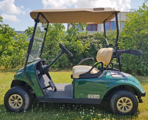 Gebrauchte-Golfcarts-EZGO-TXT-48-grün-Seiteansicht-600x600