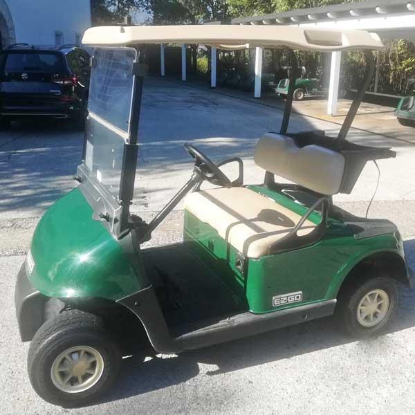 Gebrauchte-Golfcarts-EZGO-RXV-grün-2016-side-left-600x600