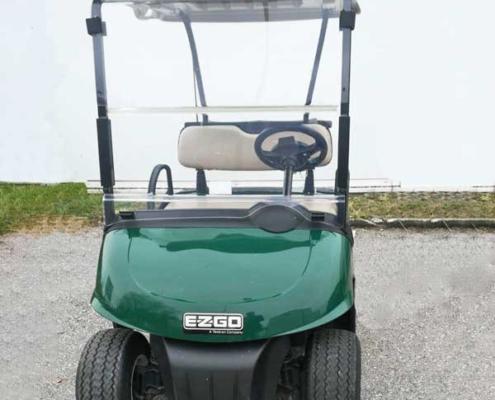 Gebrauchte-Golfcarts-grün-5377370-Seltenheim-Frontansicht